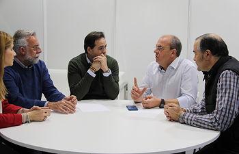 Núñez se reúne con Monago. Foto: PP CLM.