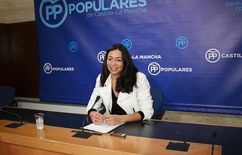 La diputada regional, Claudia Alonso