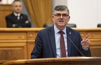 Ángel Tomás Godoy, diputado socialista en las Cortes regionales.