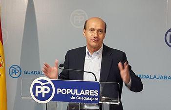 Juan Pablo Sánchez, secretario provincial PP Guadalajara