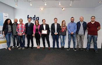 FEDA comparte con los medios de comunicación la Placa al Mérito Regional.