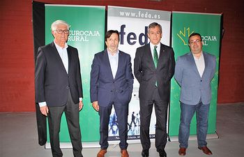 Eurocaja Rural respalda el evento Arte-Caña organizado por FEDA