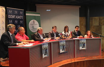 """Presentación VIII Torneo de Tenis """"Ciudad de Albacete"""" en Silla de Ruedas"""