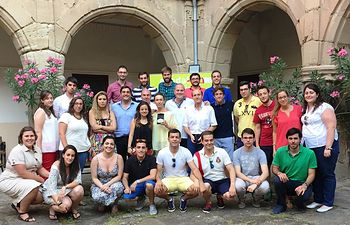I Escuela de Verano de NN GG Guadalajara celebrada en  Sigüenza.