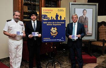 CORREOS presenta la emisión filatélica dedicada a 500 años de la Sanidad Militar Española