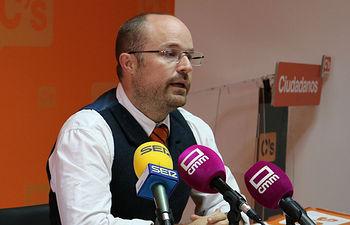 Alejandro Ruiz delegado de C´s.
