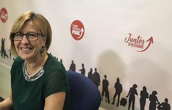 Blanca Fernández, portavoz del Grupo Parlamentario Socialista.