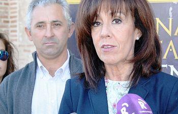 Ángela Moreno en Carmena. Foto: JCCM.