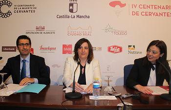 Patricia Franco presenta los actos de conmemoración del IV Centenario de Ciudad Real. Foto: JCCM.