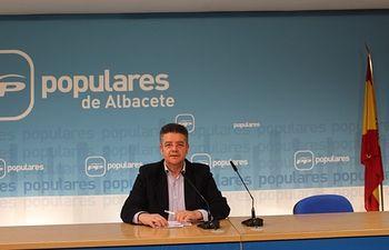 El viceportavoz del PP de Albacete, Juan Antonio Moreno Moya.