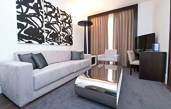 El buen gusto predomina en cada una de las habitaciones del Hotel Beatriz.
