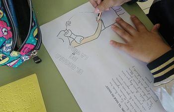 El Taller El Viaje de Nacer, que este curso se ha iniciado en Proyecto Mater.