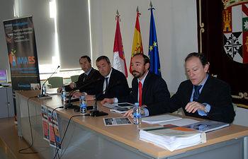 Manuel Sánchez, Valentín Fernández, Jesús López y José Mª Monteagudo.