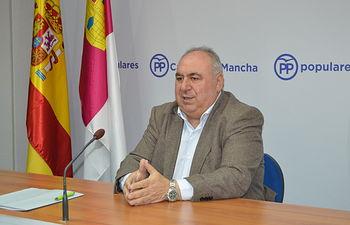 Vicente Tirado, diputado nacional del Partido Popular por la provincia de Toledo.