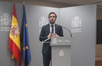 Alberto Garzón, ministro de Consumo....Alberto Garzón, ministro de Consumo......2/17/2020. Foto: Europa Press 2020