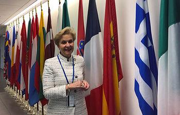 Carmen Quintanilla en 63 CSW de Naciones Unidas.