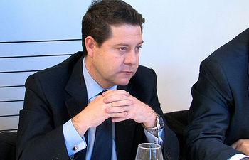 Emiliano García-Page, secretario general del PSOE en Castilla-La Mancha