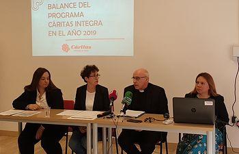 Balance del programa de Acompañamiento a Migrantes, Cáritas Integra.