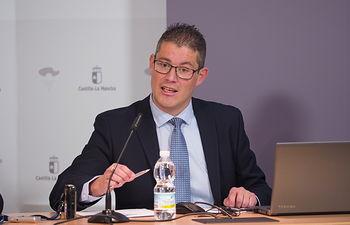 César López Ballesteros, director provincial de Fomento en Albacete