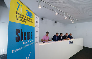 Presentación de la 7 edición de los Sherpa. Foto: La Cerca - Manuel Lozano Garcia