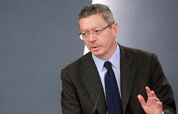 Alberto Ruiz Gallardón. Imagen de archivo.