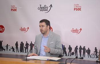 Antonio Sánchez Requena, portavoz de Empleo del grupo parlamentario socialista en las Cortes de Castilla-La Mancha.
