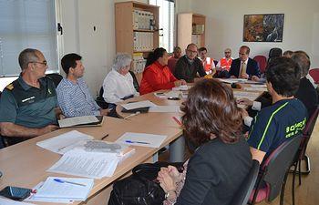 El delegado de la Junta preside la reunión del Comité Asesor provincial del Infocam en Guadalajara.