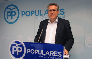 Miguel Ángel Rodríguez, candidato del PP de Ciudad Real a las Cortes de Castilla-La Mancha