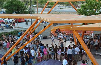 Imagen de archivo de la exhibición de fin de curso de loa talleres anuales de Juventud. Fotografía: Álvaro Díaz Villamil / Ayuntamiento de Azuqueca