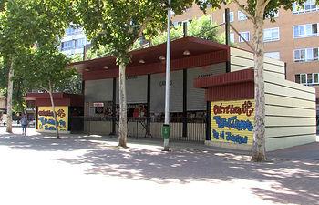 Tómbola de Cáritas en el Paseo Ferial.