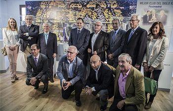 Almansa amplía su oferta turística con una exposición sobre la historia del Real Madrid, en el 36 aniversario del fallecimiento de Santiago Bernabéu