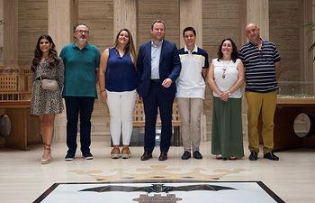 Presentación de las parejas seleccionadas como manchegos de la Feria de Albacete. Foto: La Cerca - Manuel Lozano Garcia