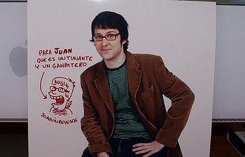 Joaquín Reyes, actor y cómico albacetense.
