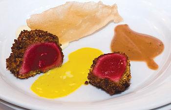 El Goloso en Ramas, una receta del restaurante Birubi de Albacete.