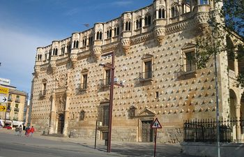 Palacio Infantado de Guadalajara.