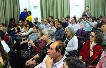 Belinchón asistió a la entrega de reconocimientos 'Destacadas 2015'