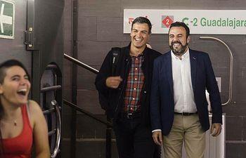 Pedro Sánchez y José Luis Blanco.