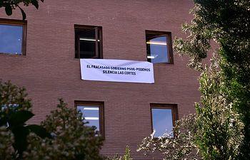 """El PP denuncia que """"el fracasado Gobierno de Page y Podemos silencia las Cortes de Castilla-La Mancha""""."""