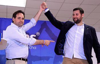 Núñez ha intervenido este sábado en la presentación del candidato a la Alcaldía de Galápagos (Guadalajara)