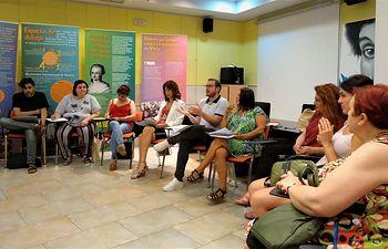 Reunión con las entidades y colectivos que forman parte del Consejo Municipal de la Mujer.