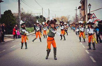 Desfile Carnaval Porzuna, primer premio locales.