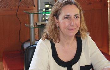 Silvia Valmaña conferencia en Yuste. Foto: JCCM.