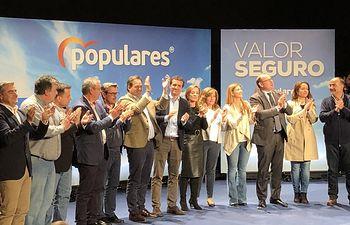 Acto del PP en Almansa.