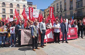 Concentración 22 de mayo en Ciudad Real.