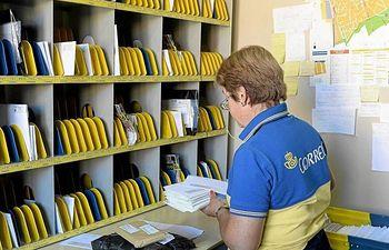 Servicio de Correos. Archivo.
