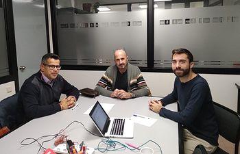 El PSOE se reúne con colectivos LGTBI.