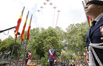 Felipe VI preside los actos centrales del Día de las Fuerzas Armadas - 28-05-16.