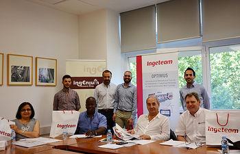 Los miembros del consorcio se reúnen en la Escuela de Industriales de Ciudad Real