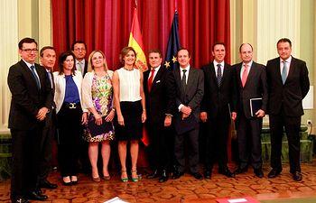 García Tejerina convenio BEI-ICO. Foto: Ministerio de Agricultura, Alimentación y Medio Ambiente