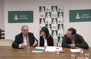 Reunión ASAJA Toledo con Vicente Tirado.